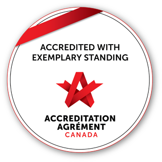 The Accreditation Logo